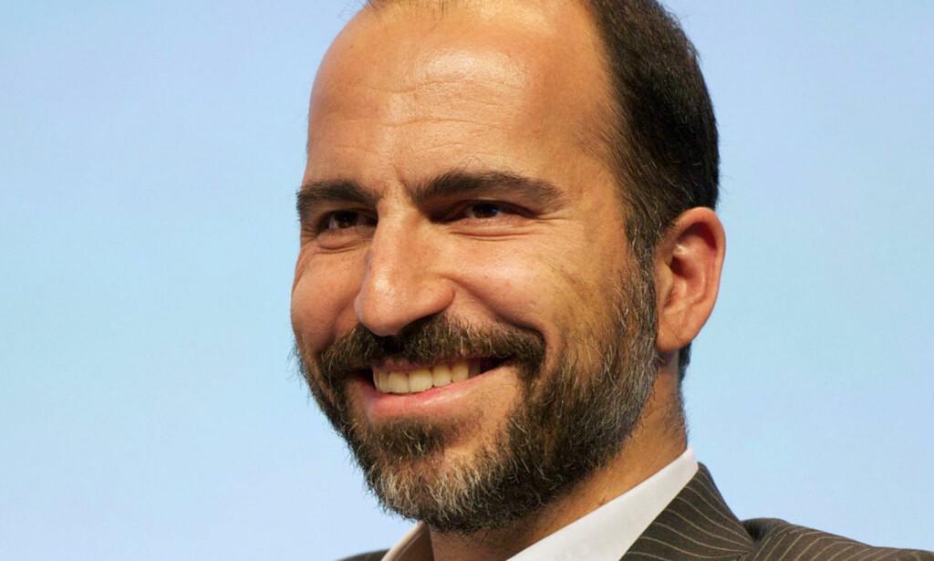 NY UBER-SJEF: Dara Khosrowshani kommer fra jobben som toppsjef for Expedia. Foto: Courtesy of Expedia, Inc. via AP