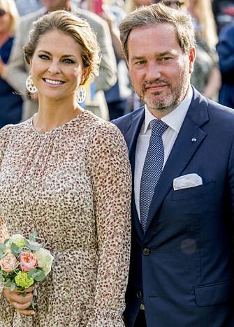 GRAVID: Prinsesse Madeleine og Christopher O'Neill venter sitt tredje barn. Foto: NTB Scanpix