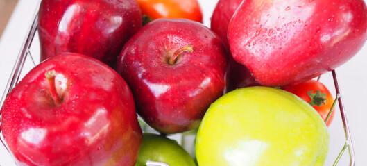 Gratis skolefrukt til noen - men ikke til alle