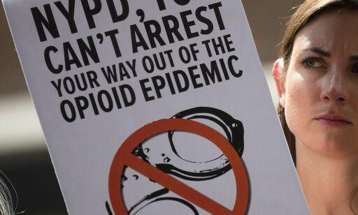 image: Katastrofetilstander i USA med 60 000 overdosedødsfall på ett år