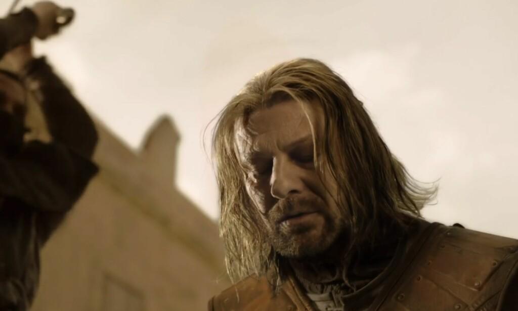 3: Ned Stark. Foto: HBO