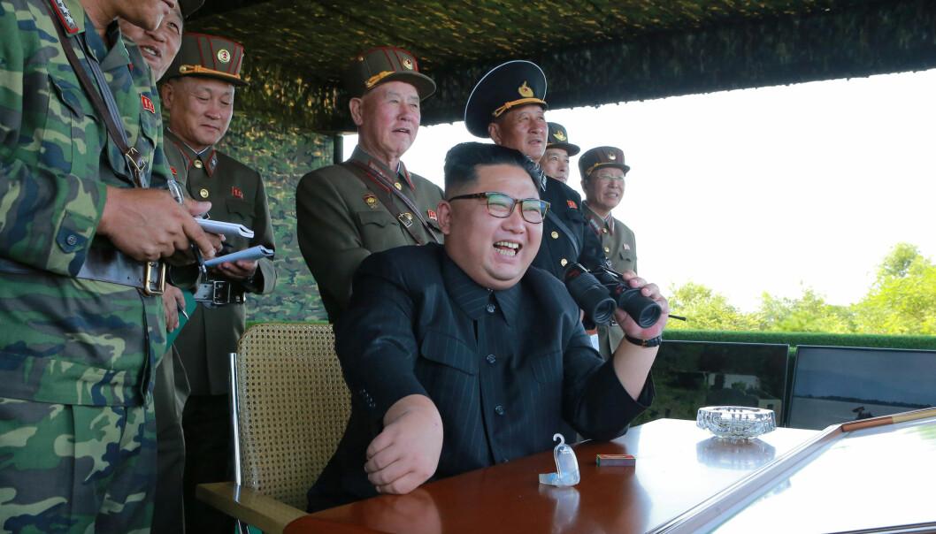 Nord-Korea avfyrte missil over Japan
