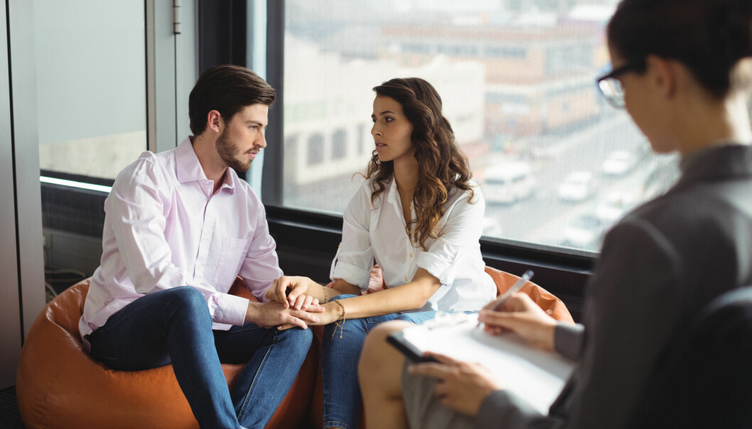<strong>PARTERAPI:</strong> Ekspertene forteller at det kan være vanskelig å redde forholdet hvis dere tar tak i problemene deres for sent. FOTO: NTB Scanpix