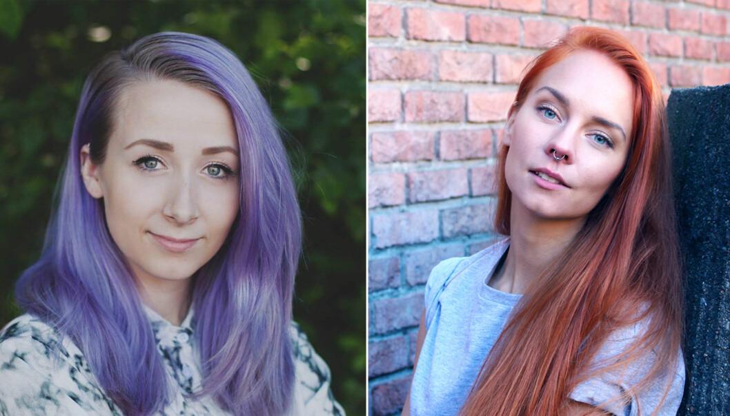 FØLGE DRØMMEN: Lisa og Weronika følger begge drømmen - og satser alt på å nå gjennom nåløyet. FOTO: Privat/Brage Bang