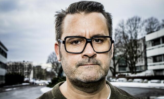 FJERNET FRA LISTE: Thomas Seltzer sto lenge på stortingslista til Samfunnspartiet. Foto: Christian Roth Christensen / Dagbladet