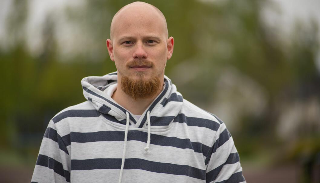 FÅR ØKONOMISK HJELP: Denne uken er det 35-åringen Raymond Seppula som får økonomisk hjelp av ekspertene i TV3. Foto: TV3