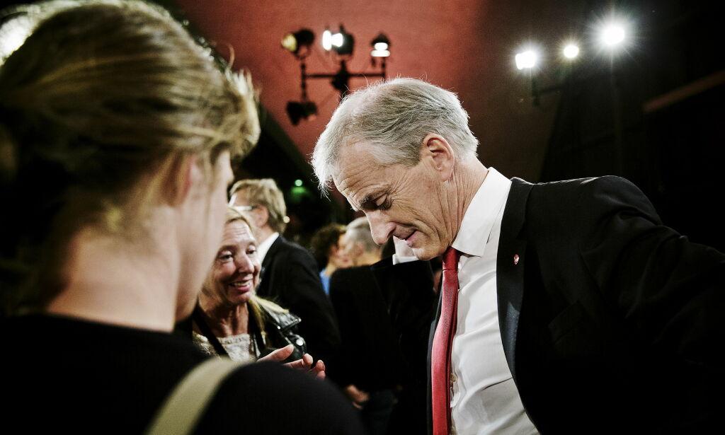 image: Støre har «magefølelse» på at valget blir bedre enn målingene