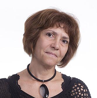 SKEPTISK TIL KURS I BABYTEGN: Professor og språkforsker Mila Vulchanova anbefaler heller at foreldre legger tid på å snakke mye med barnet sitt. Foto: NTNU