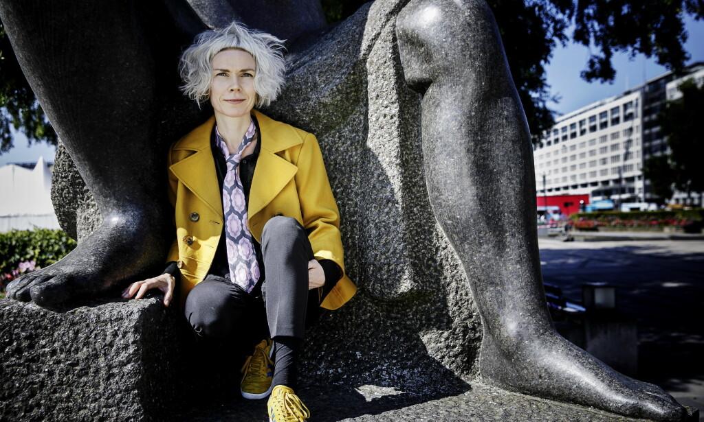 UTYDELIG: Hanne Ørstaviks nye roman skuffer anmelderen. Foto: NINA HANSEN