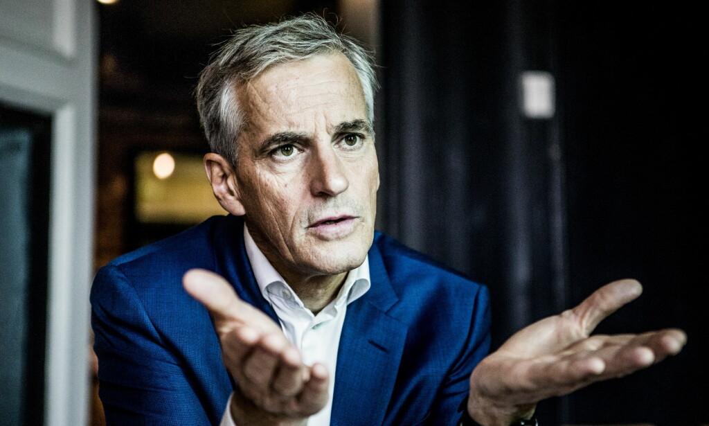 Selger seg ut: Jonas Gahr Støre. Her på Kulturhuset i Oslo. Foto: Christian Roth Christensen / Dagbladet