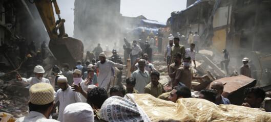 Minst sju døde og mange savnet i bygningskollaps i Mumbai