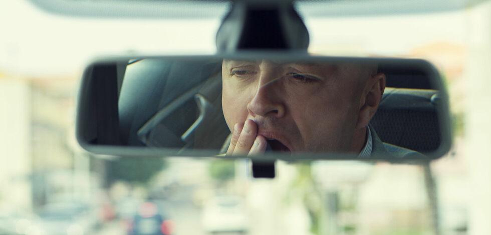 image: Kan ha sovnet bak rattet - tapte 30.000 kroner
