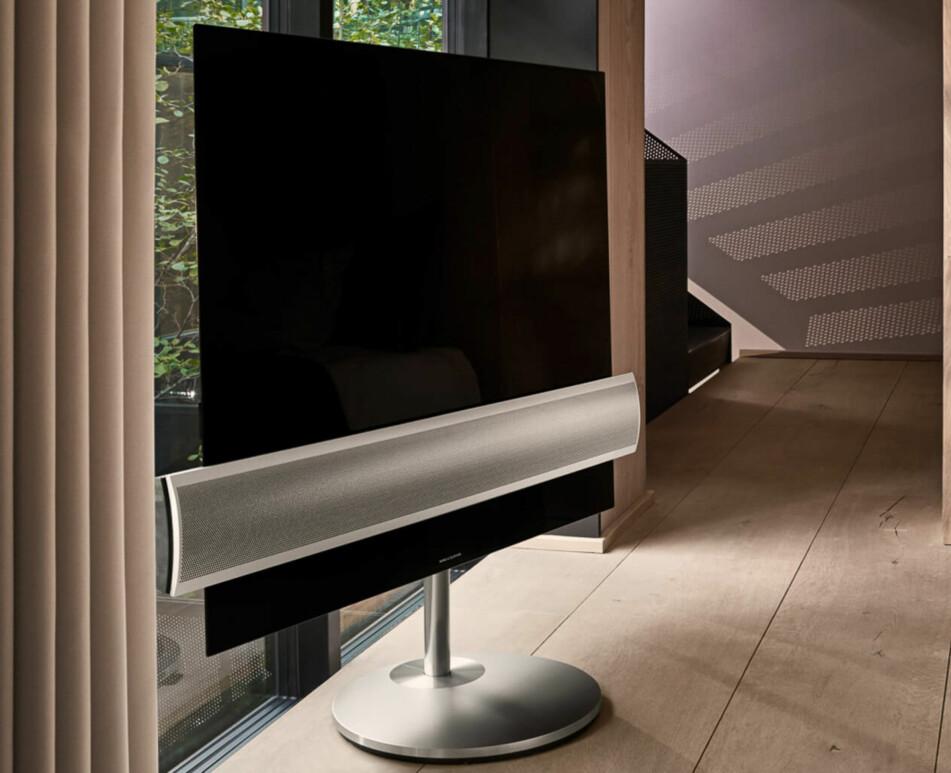 <strong>DESIGN I SENTRUM:</strong> BeoVision Eclipse er den første OLED-TV-en fra Bang &amp; Olufsen. Foto: B&amp;O