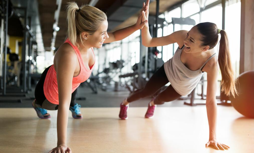 HIIT-TRENING: Ja, du kan få effekt ved å trene i kun 20 minutter! Se treningsprogrammet i saken! FOTO: NTB scanpix