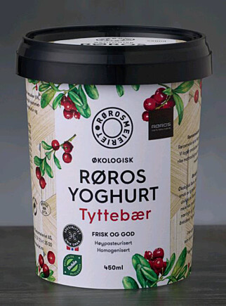 NORDISK: Rørosmeieriene lanserer tyttebæryoghurt