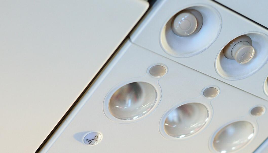 Derfor skal du aldri skru igjen denne knappen når du flyr