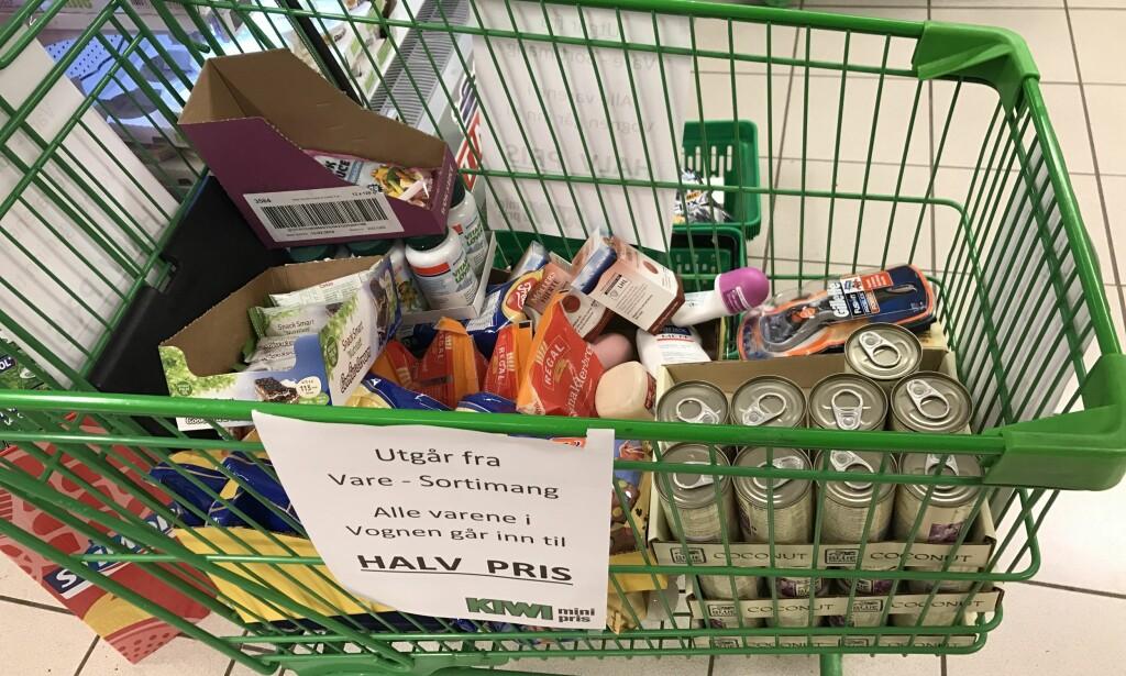 UT AV BUTIKK: Nå er det slutt for en rekke varer - og du kan gjøre et kupp i butikk. Illustrasjonsfoto: Elisabeth Dalseg