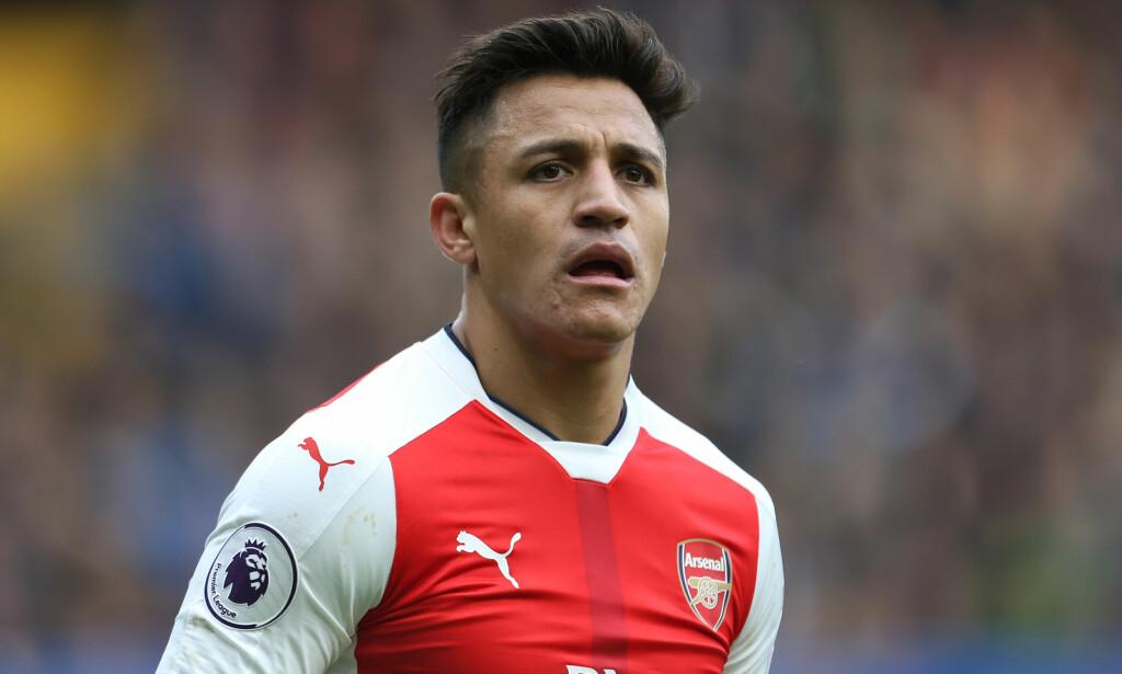 PÅ VEI TIL UNITED: Arsenals Alexis Sanchez. Foto: NTB Scanpix
