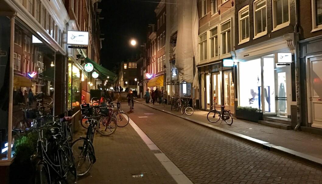 <strong>PASS PÅ I STORBYEN:</strong> Å rusle alene hjem fra en tur på restaurant eller bar i storbyer som for eksempel Amsterdam kan være dumt. Slå følge med andre eller ta en taxi. Foto: Odd Roar Lange/The Travel Inspector
