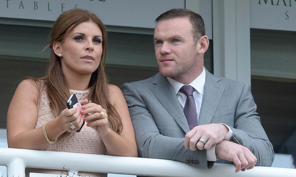 RASENDE: Etter en kveld på byen skal Wayne Rooney gjøre alt for å redde ekteskapet med kona Coleen. Foto: Pa Photos