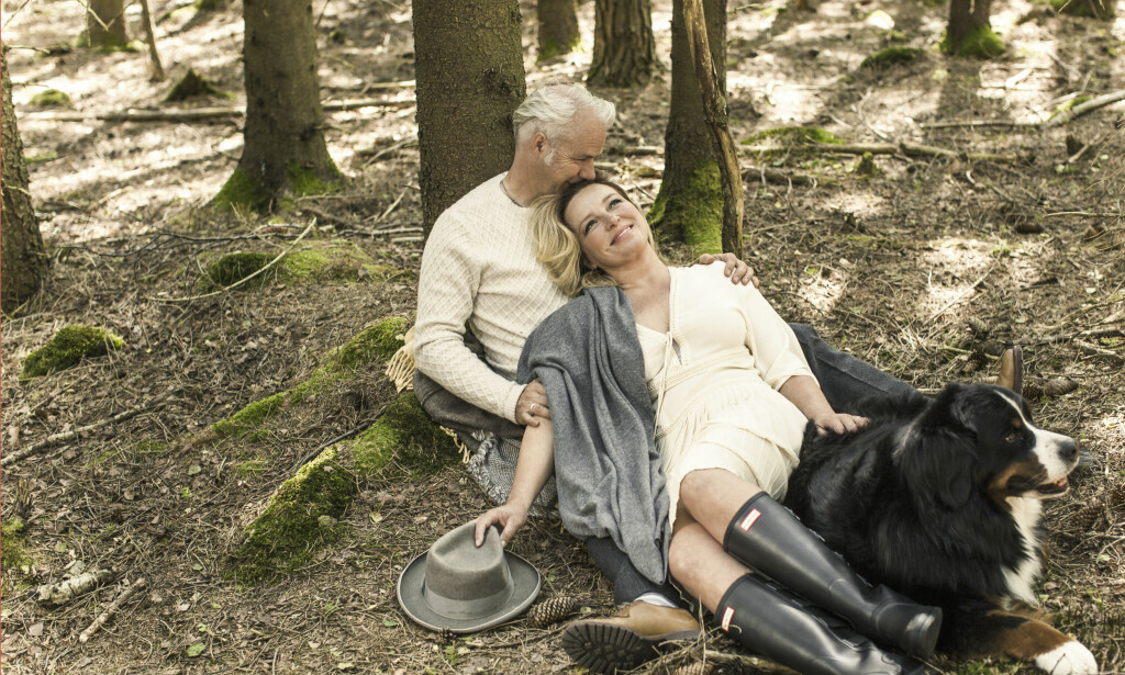 HARALD OG VESLEMØY ZWART: Harald måtte fri til Veslemøy tre ganger. Ikke fordi hun ikke ville ha ham, men fordi hun ville at begge skulle være trygge nok på forpliktelsen. FOTO: Astrid Waller