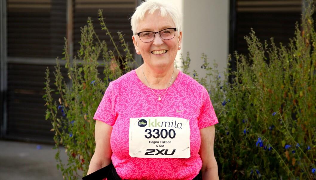 <strong>FIKK LUNGETRANSPLANTASJON:</strong> Ragna (59) har aldri vært i så god form som hun er nå, etter å ha fått nye lunger. (Foto: Ida H. Bergersen)