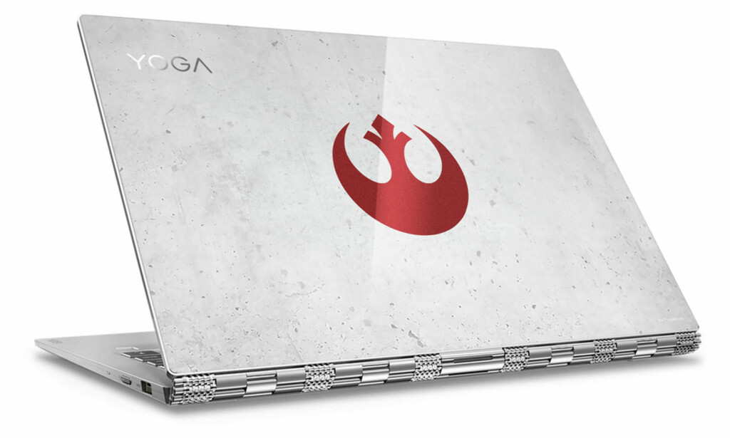 STAR WARS-FAN? Yoga 920 kan fås i både rebel- og imperial-utgave. Foto: Lenovo