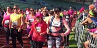 Her løper 87 år gamle Reidun Mansrud KK-mila (wow!)