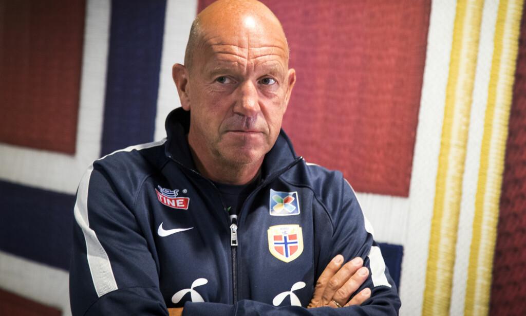 FERDIG: Nils Johan Semb flyttes over til en mentorrolle. Foto: Heiko Junge / NTB scanpix