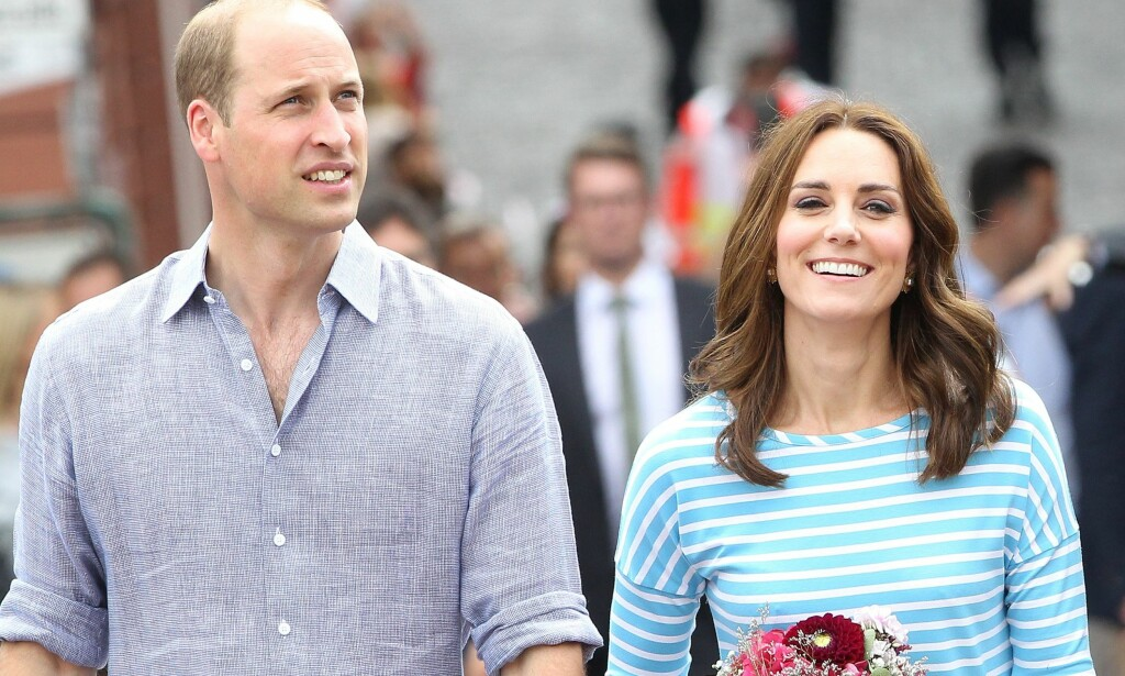 KLARE FOR NORGE: Prins William og hertuginne Kate kommer til Norge 1. og 2. februar. Ifølge programmet, får de britiske gjestene blant annet møte «Skam»-stjernene. Foto: NTB Scanpix