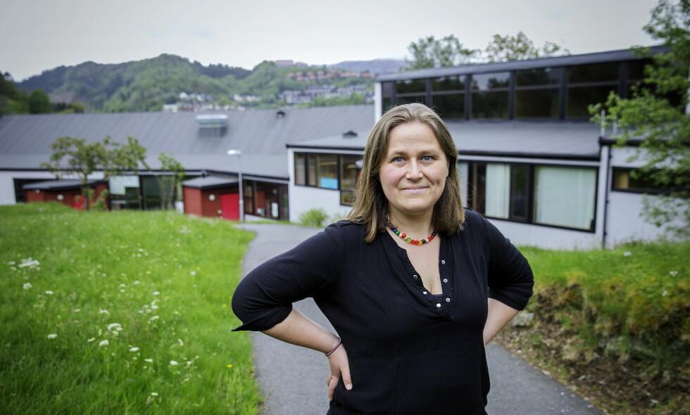 PERSONLIG OG POLITISK: Olaug Nilssen har skrevet «Tung tids tale» om erfaringene som mor til et barn med spesielle behov. Foto: Nina Hansen