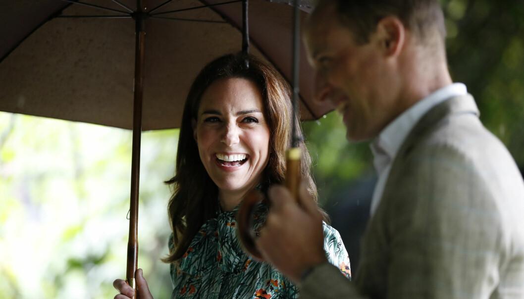 FLOTT PAR: Hertuginne Kate og prins William. Foto: Scanpix