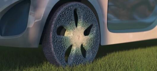Michelin mener de kan ha funnet opp hjulet på nytt