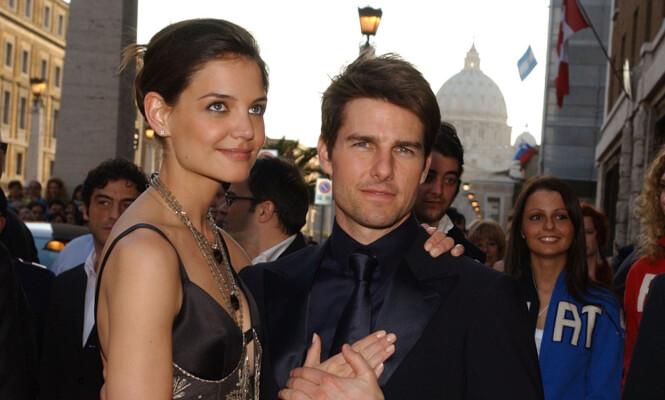 EKS-PAR: Katie Holmes og Tom Cruise var gift fra 2006 til 2012. Foto: NTB Scanpix