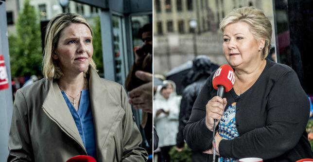 image: Solberg og Listhaug raser over AUF-video: - Det mest avskyelige og løgnaktige jeg har sett