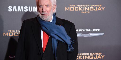 image: Donald Sutherland får Æres-Oscar