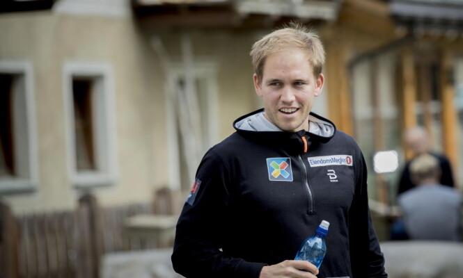 <strong>PROFIL:</strong> Pål Golberg på pressetreff i Livigno. Foto: Bjørn Langsem / Dagbladet