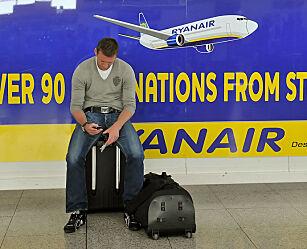 image: Nå kniper Ryanair igjen på håndbagasjen