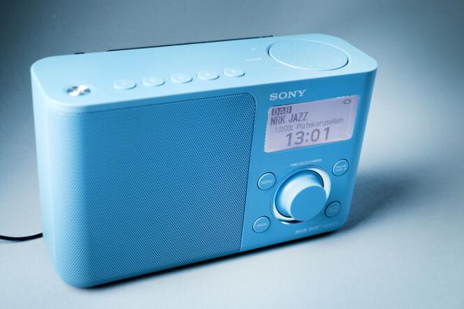 <strong>ENKEL, MEN DYR:</strong> Sony-radioen burde nok ligget under tusenlappen. Foto: Ole Petter Baugerød Stokke
