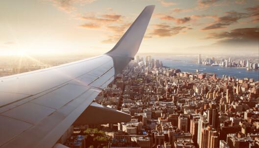 BEST FOR FOTO: Trekantene viser deg også hvor du får de beste bildene når du skal dokumentere flyturen din. Foto: Shutterstock / NTB Scanpix