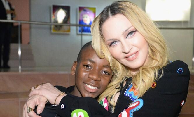 <strong>UVENTET RESPONS:</strong> Madonna forteller at hun gikk gjennom en vanskelig tid etter at hun i 2006 adopterte sønnen David fra Malawi. Foto: NTB scanpix