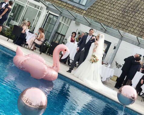image: Jeg må fortsatt klype meg i armen når jeg tenker på bryllupet vårt