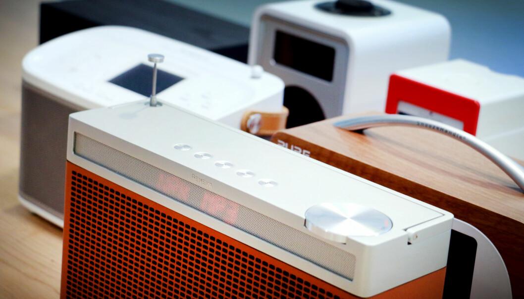 <strong>TOPPKLASSEN:</strong> Er du villig til å punge ut et par-tre tusenlapper for en DAB-radio, kan du velge blant disse. Foto: Ole Petter Baugerød Stokke