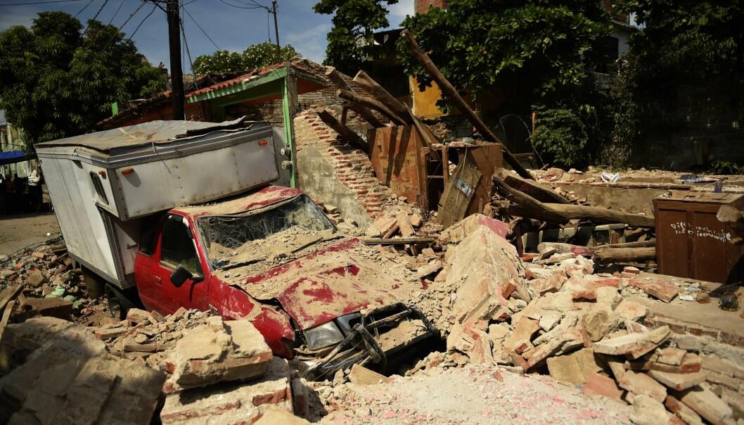 Minst 61 omkomne etter jordskjelv i Mexico: - Det ser ut som byen har blitt bombet