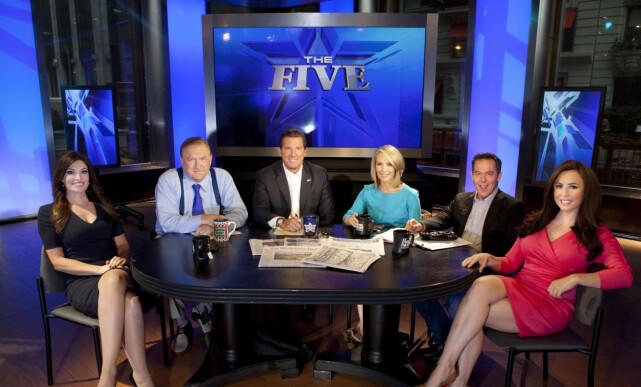 VELKJENT: Eric Bolling ledet flere Fox-produksjoner. Han var blant annet en del av panelprogrammet «The Five». Foto: NTB scanpix