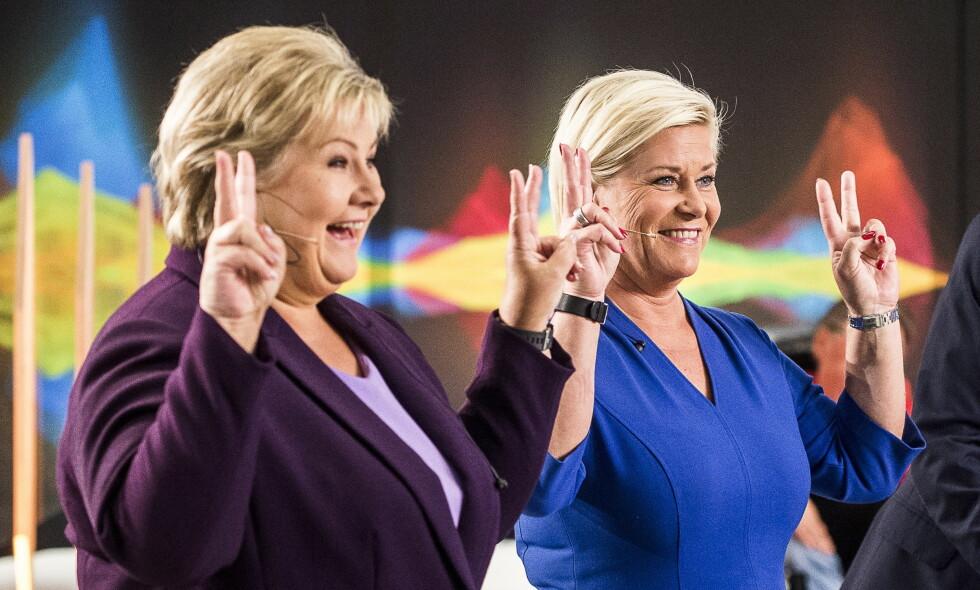 GIR SKATTELETTER: Regjeringen sørger for at de aller fleste har fått litt mindre skatt å betale - men det er de rikeste blant oss som er vinnerne. Foto: Lars Eivind Bones / Dagbladet