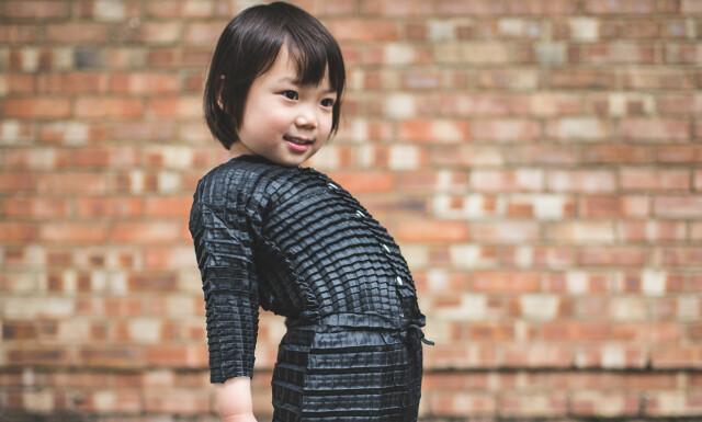 8e2a27b0 VOKSER MED BARNA: Designer Ryan Yasin har funnet opp barneklær som er laget  med en