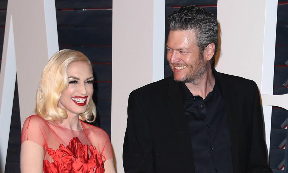 BLIR FORELDRE: Ifølge nettstedet Radar Online, venter Gwen Stefani og Blake Shelton sitt første barn sammen. Foto: NTB Scanpix