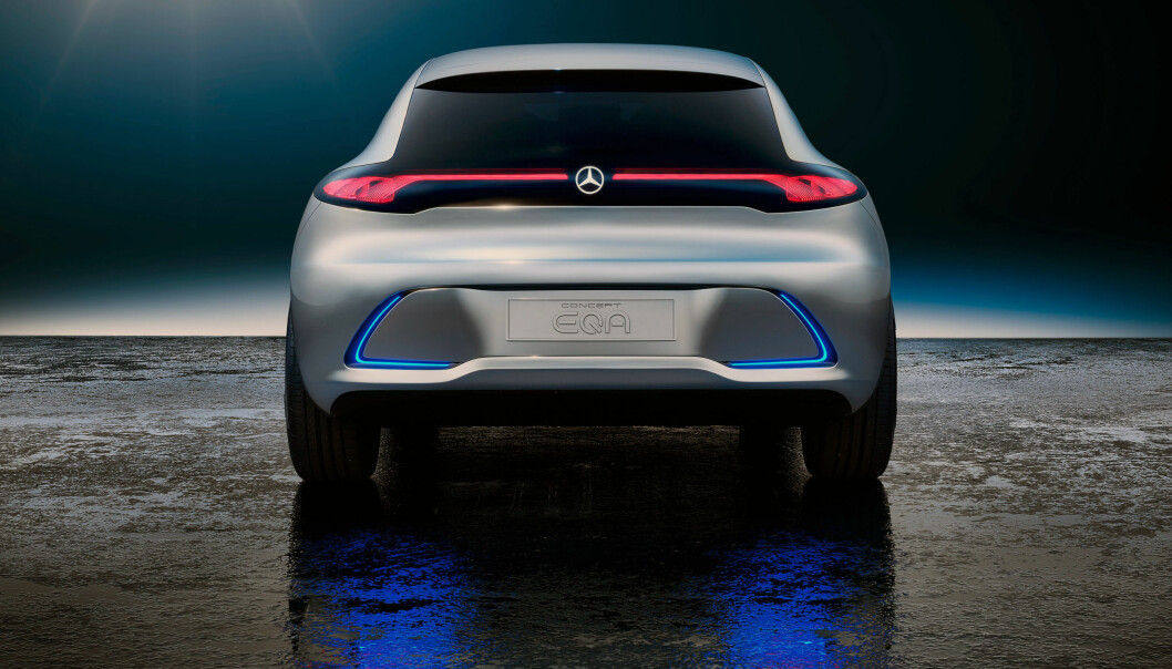 Mercedes viser kompakt elbil
