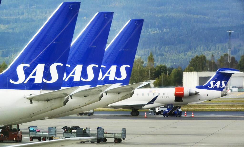 AVBLÅST: Pilotene i SAS går ikke ut i streik.  Foto: Gorm Kallestad / NTB Scanpix